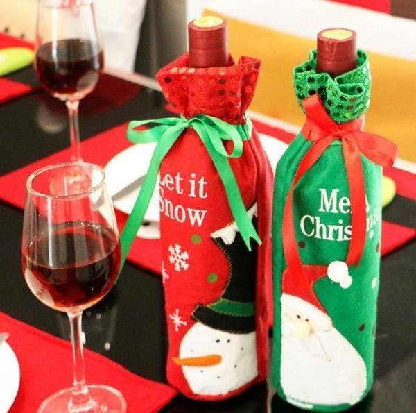 DIY Χριστουγεννιάτικη διακόσμηση από γυάλινα μπουκάλια32