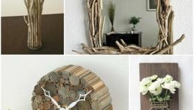 Ξύλινα διακοσμητικά αντικείμενα