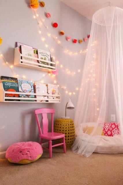 ιδέες με φωτάκια για το παιδικό δωμάτιο17
