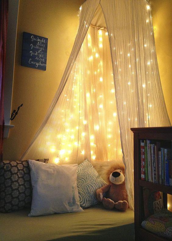 ιδέες με φωτάκια για το παιδικό δωμάτιο2