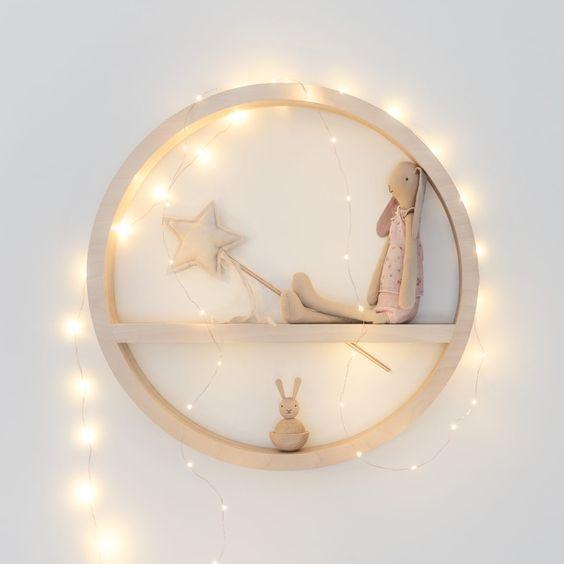 ιδέες με φωτάκια για το παιδικό δωμάτιο23