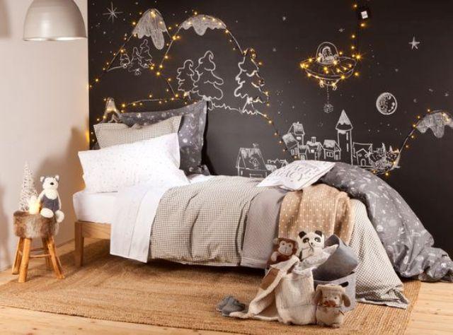 ιδέες με φωτάκια για το παιδικό δωμάτιο5