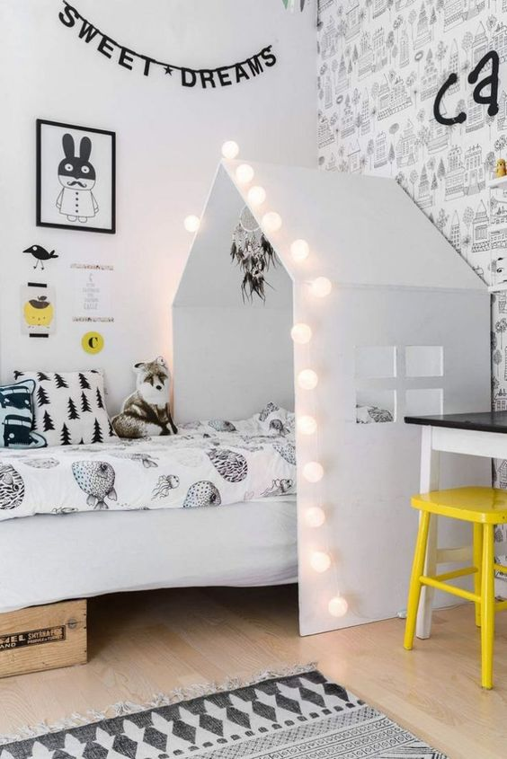 ιδέες με φωτάκια για το παιδικό δωμάτιο7