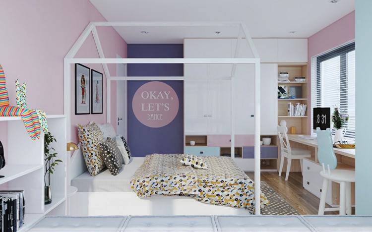 Μοντέρνα σχεδίαση παιδικού δωματίου1