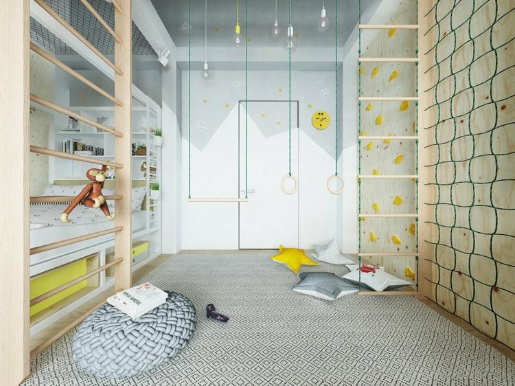 Μοντέρνα σχεδίαση παιδικού δωματίου9