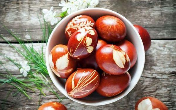 Φυσικοί τρόποι βαφής Πασχαλινών αυγών1
