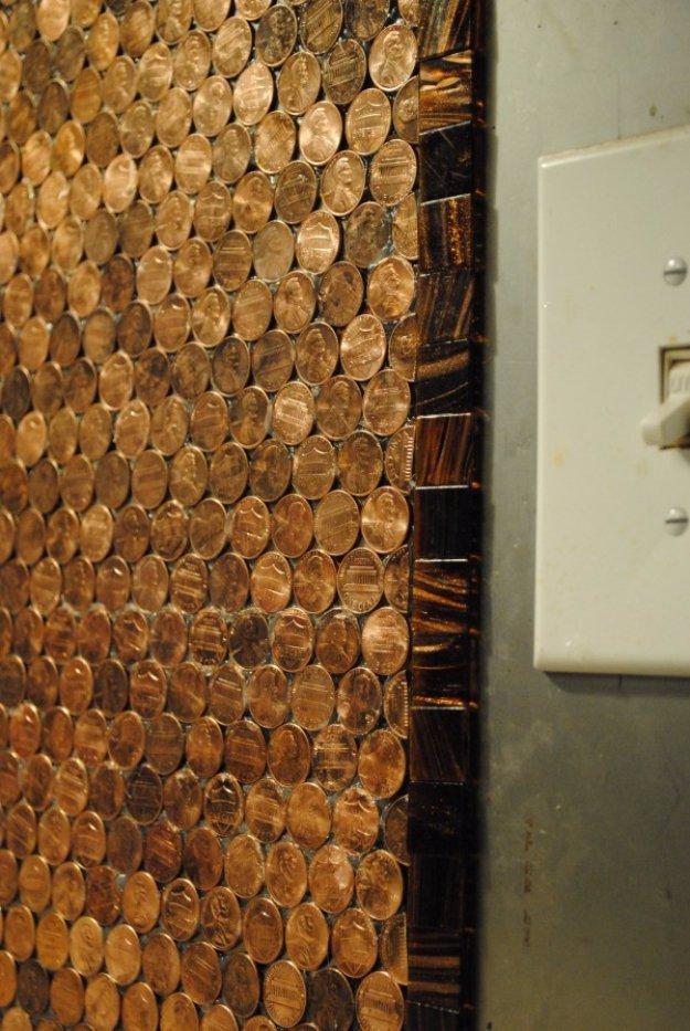 DIY έργα διακόσμησης από μικρό νομίσματα15