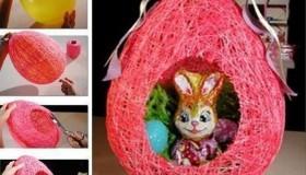 texnotropies.info Πασχαλινά διακοσμητικά αυγά από νήματα8