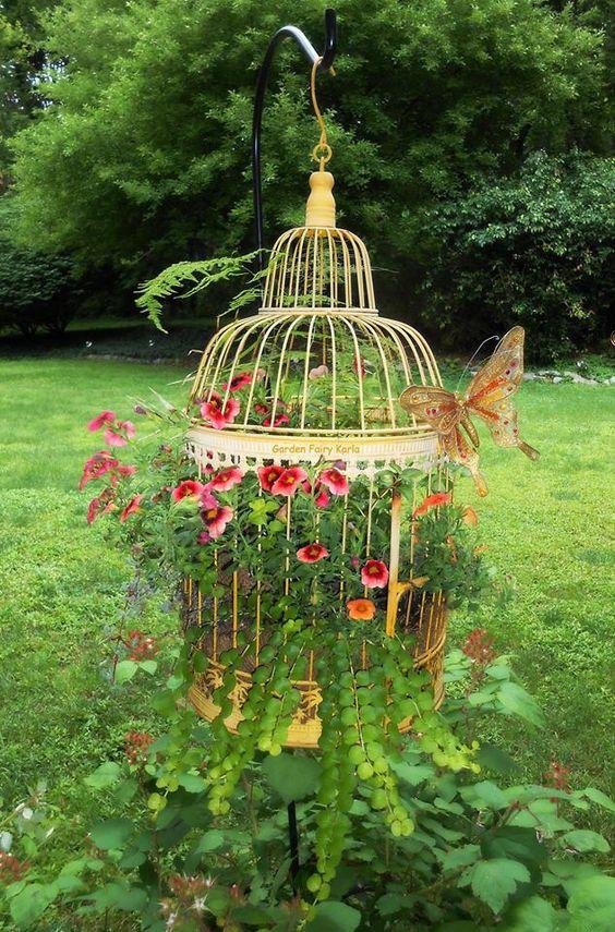 Κλουβιά πουλιών σαν γλάστρες3
