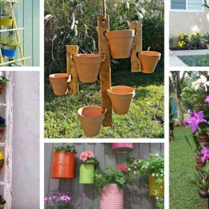 Έξυπνες DIY ιδέες με ορθοστάτες για να απολαύσουμε όμορφα, περισσότερα λουλούδια στο σπίτι μας