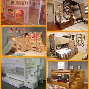 Διασκεδαστικές και παιχνιδιάρικες κουκέτες: Ιδέες για το παιδικό δωμάτιο