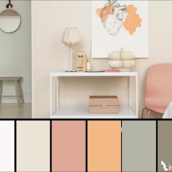 10 παλέτες χρωμάτων που θα σας βοηθήσουν στην Δημιουργία ενός χώρου ηρεμίας