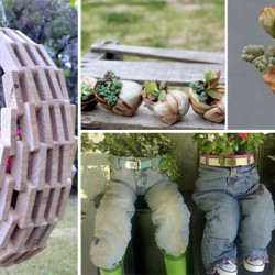 30 Εύκολές και Φτηνές DIY Γλάστρες Κήπου που δεν έχετε φανταστεί
